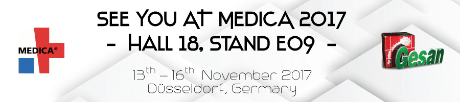 See you at Medica 2017 - Hall 18 / Stand E09